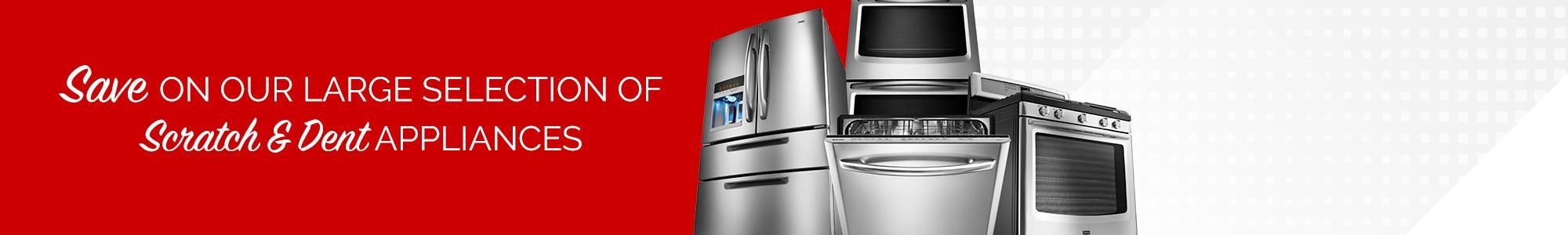 Scratch And Dent Appliances Featured Shop Now